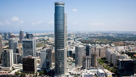 Plate heat exchangers for Moshe Aviv Tower